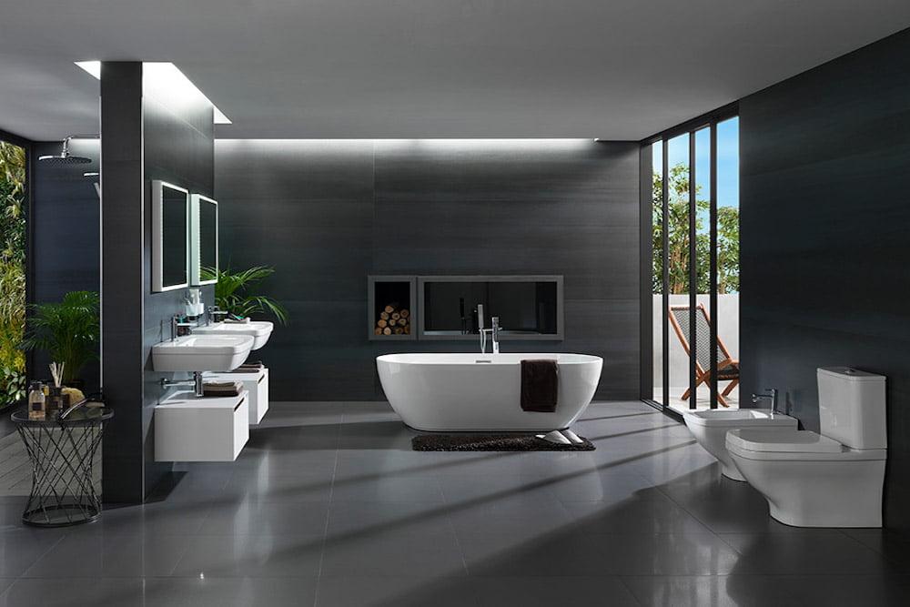 muebles de baños minimalistas