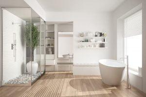 muebles para baños nordicos