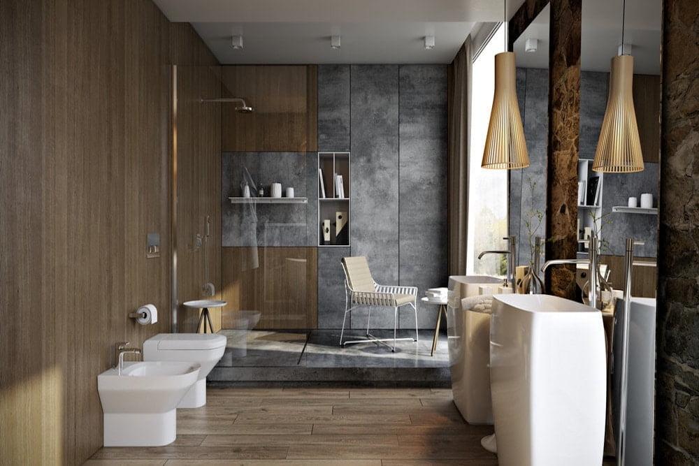 reformar un baño grande