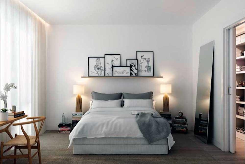 Decorar dormitorios de matrimonio pequeños