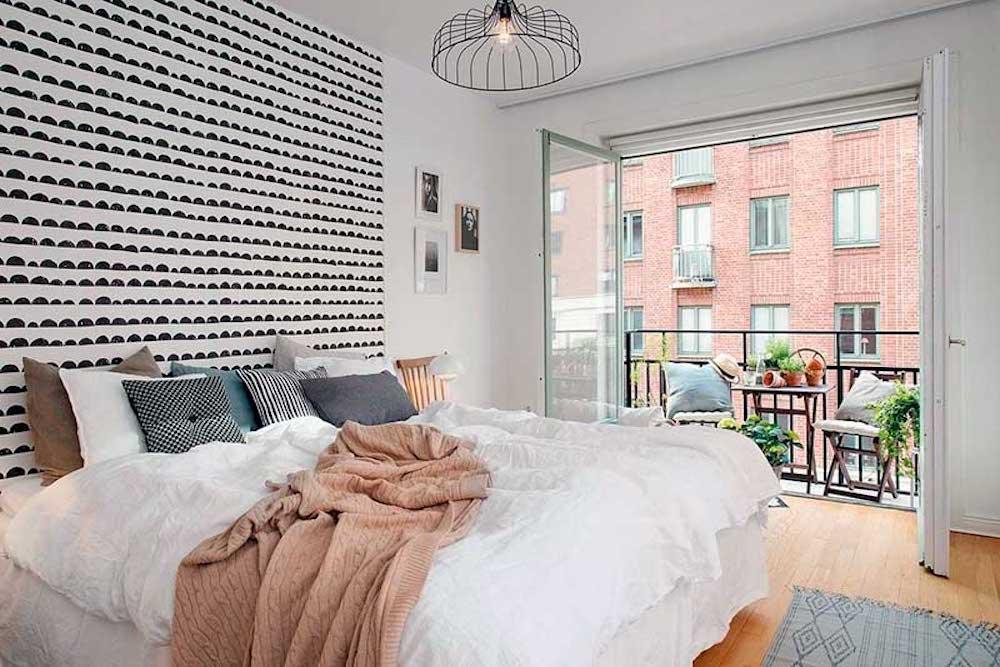 Dormitorio pequeño de matrimonio