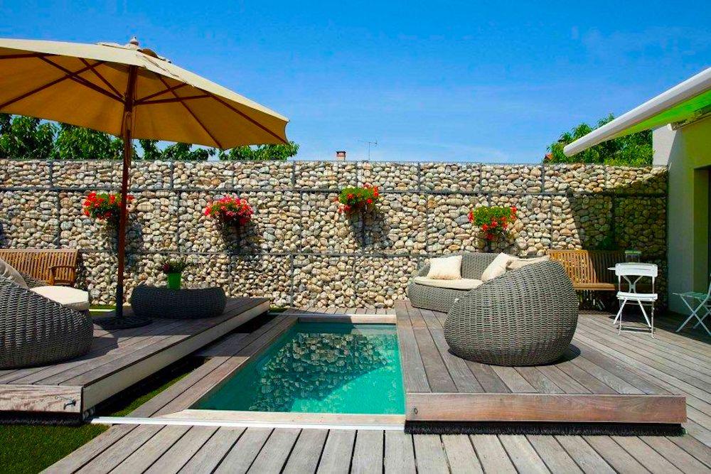 Jardines con terraza