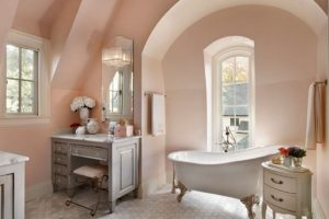 baños decorados estilo shabby chic