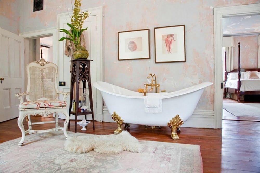 baños estilo shabby chic