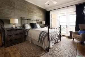 como decorar un dormitorio estilo rustico