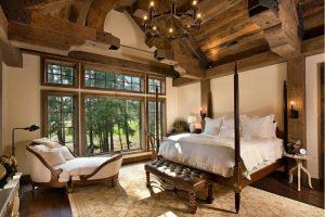 como decorar un dormitorio rustico