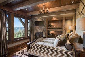 cuadros para un dormitorio rustico