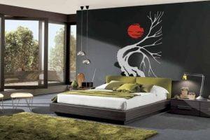 decoracion de dormitorio estilo oriental