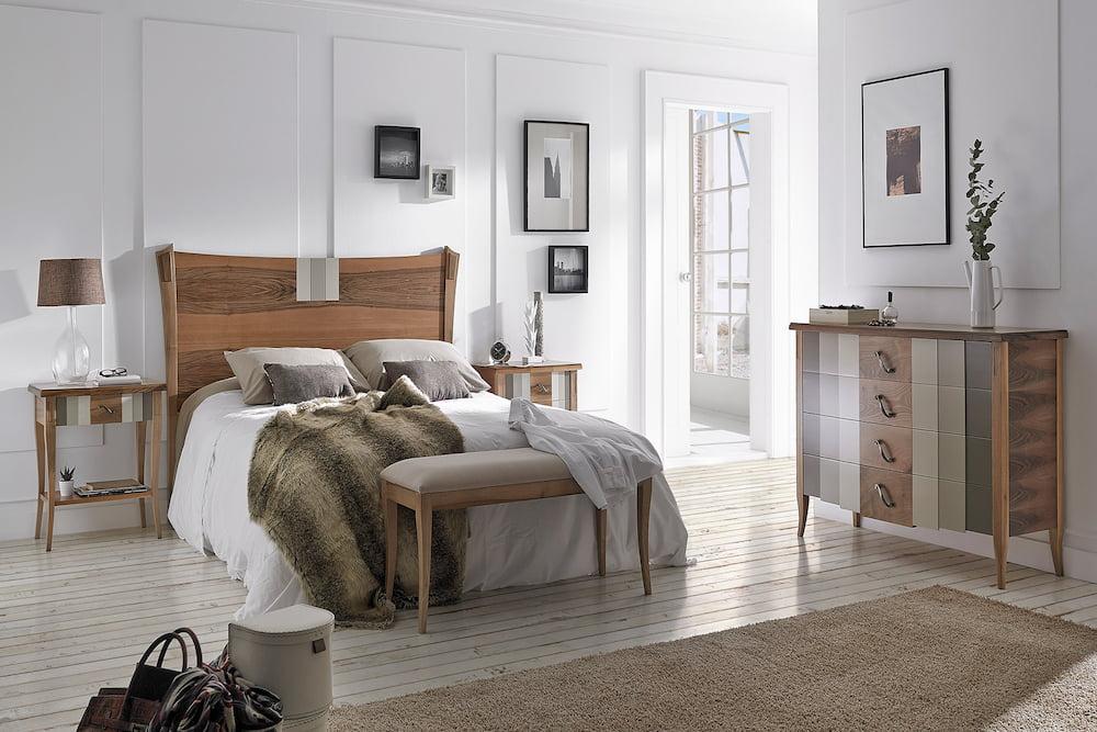 decoracion dormitorio estilo vintage