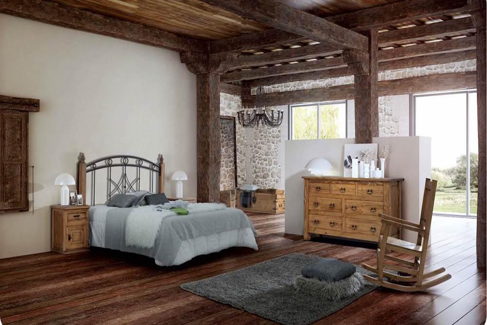 decoracion dormitorios rusticos matrimonio