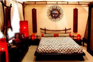 diseño de dormitorios orientales