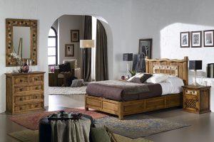 diseños de dormitorios matrimoniales rusticos