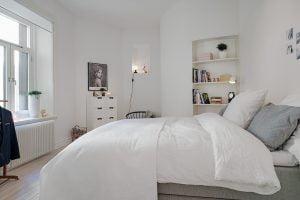 dormitorio de matrimonio estilo nordico