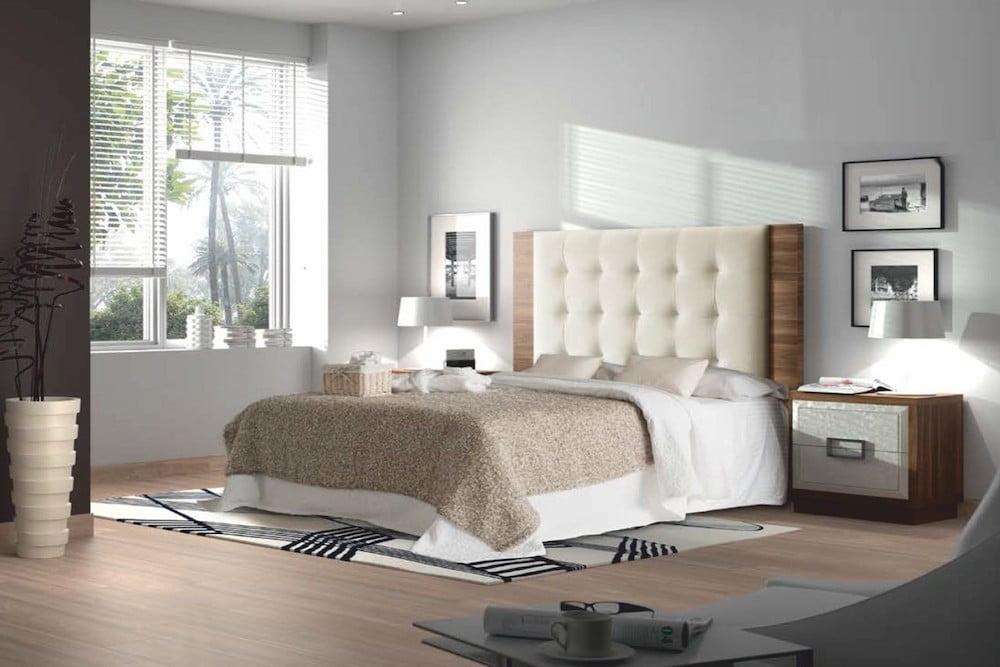 dormitorio en dos colores