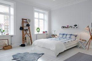 dormitorio estilo nordico pequeño