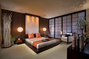 dormitorio matrimonio oriental