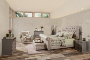 dormitorio modelo vintage