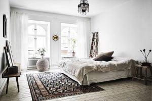 dormitorio nordico matrimonio