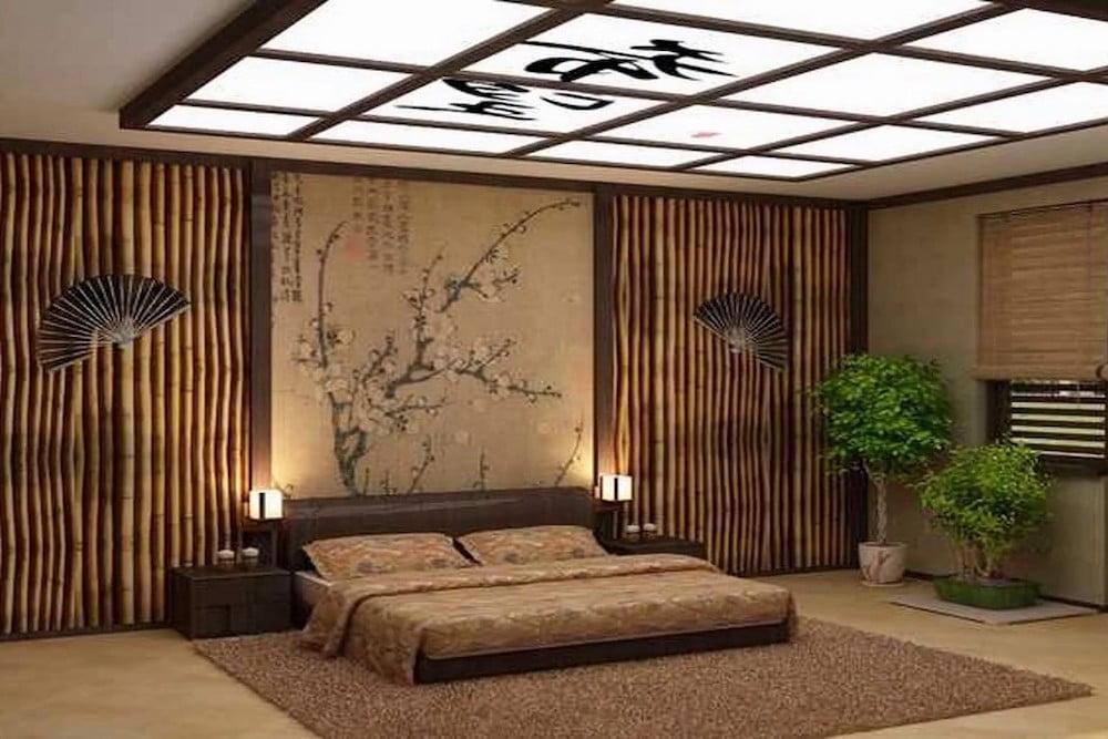 dormitorios con estilo oriental