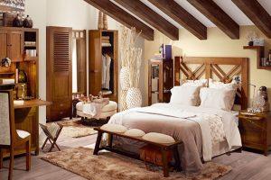 dormitorios de madera rusticos