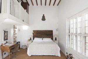 dormitorios matrimoniales pequeños rusticos