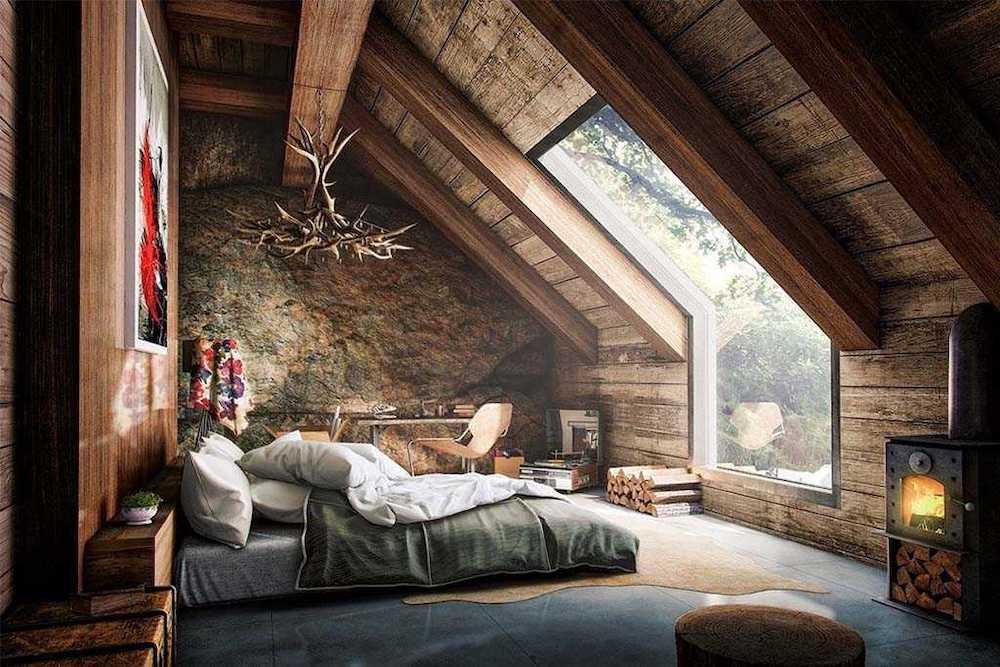 dormitorios rusticos con encanto