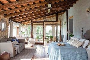 dormitorios rusticos de lujo