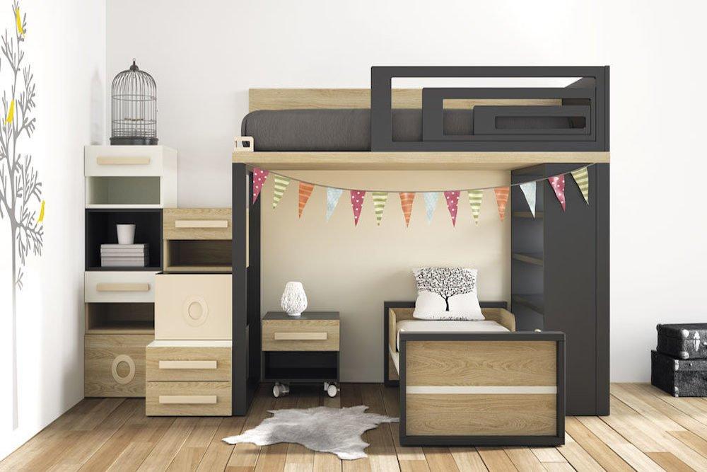 habitaciones espectaculares en espacios pequeños