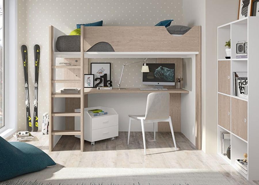 ideas para decorar dormitorios juveniles pequeños.