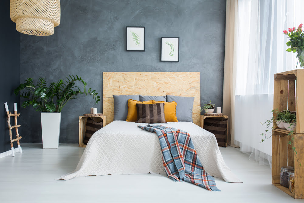ideas para dormitorios de matrimonio pequeños