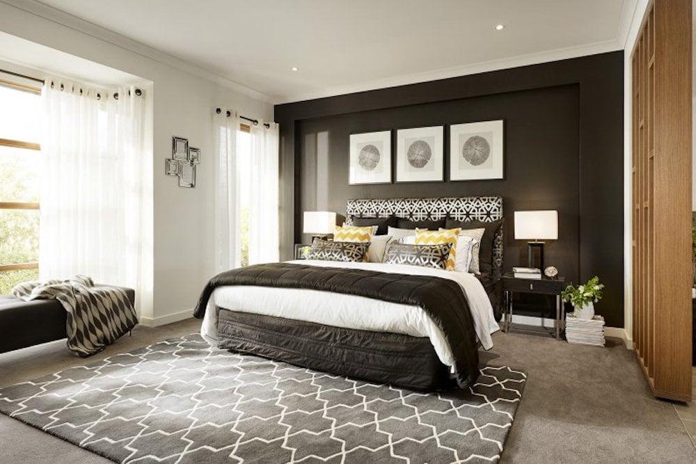 ideas para pintar el dormitorio en dos colores