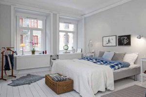iluminacion dormitorio estilo nordico