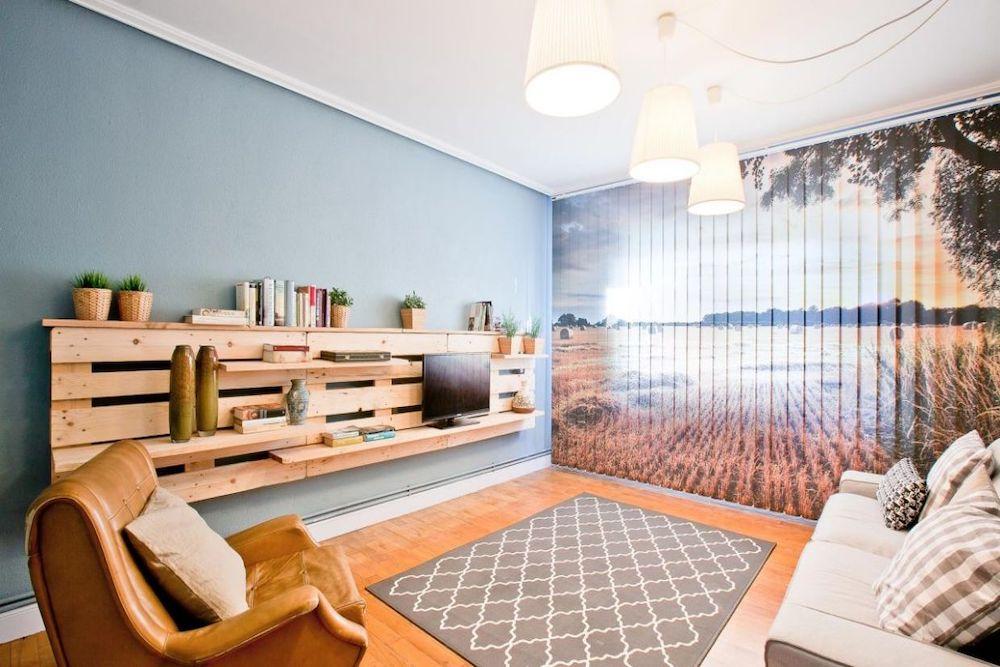 muebles con palets para el salon