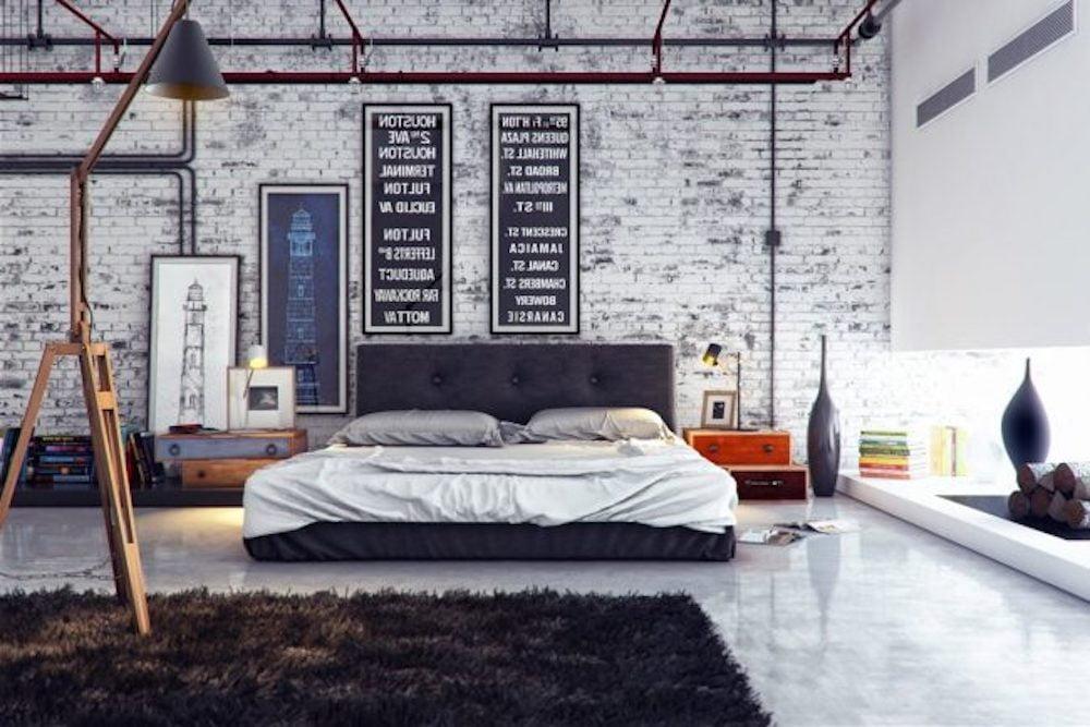 muebles dormitorio estilo industrial