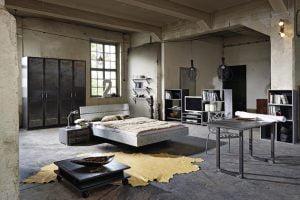 muebles para dormitorio estilo industrial