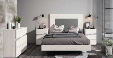 pintar el dormitorio en dos colores