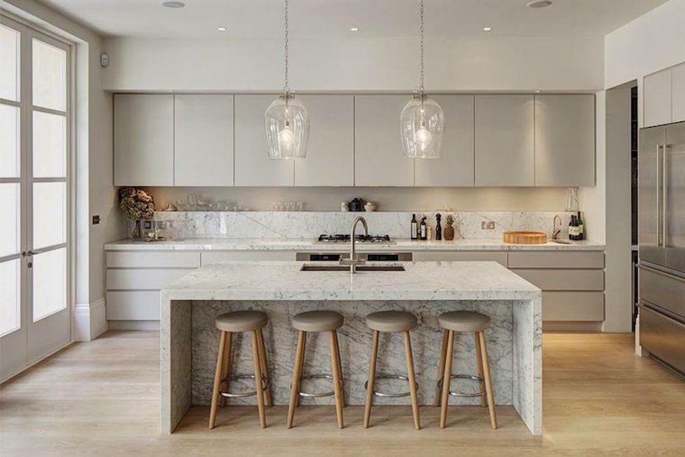 Cocinas modernas con detalles llamativos