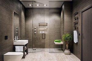 baños elegantes pequeños