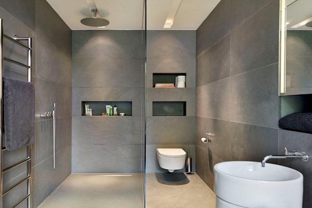 baños pequeños elegantes