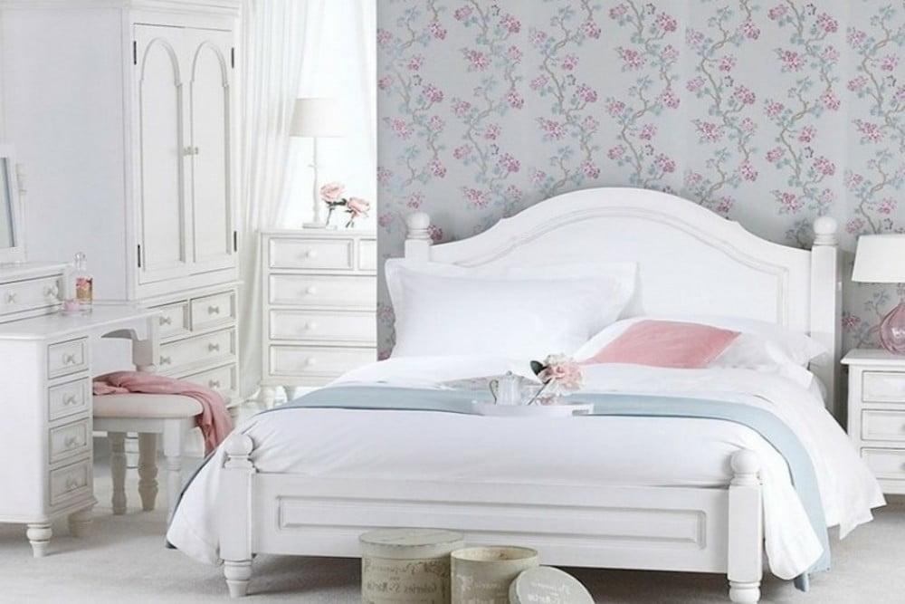 como decorar un dormitorio estilo shabby chic