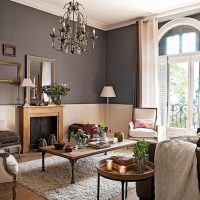 consejos para pintar paredes en gris