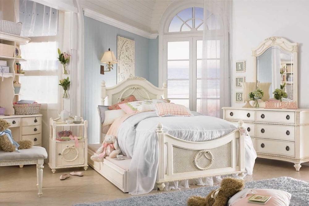 cortinas para dormitorio shabby chic