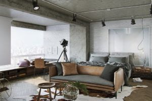 decoración de dormitorios eclecticos