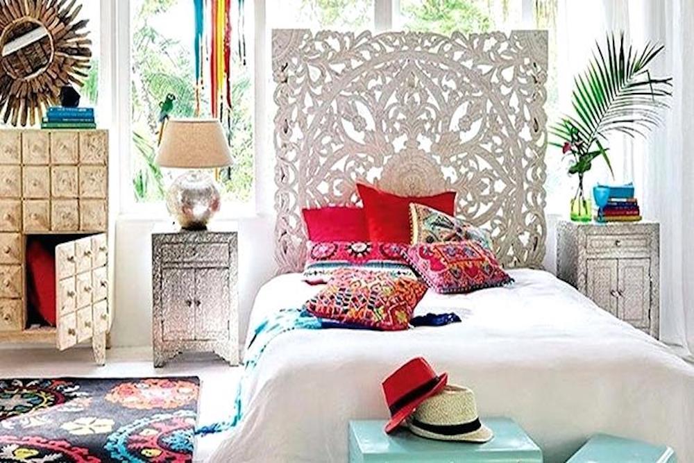 decoracion boho chic dormitorio