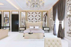decoracion dormitorio arabe