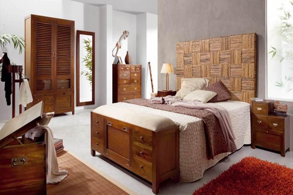 decoracion dormitorio estilo etnico