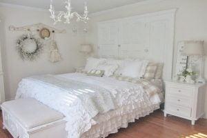 decoracion dormitorio estilo shabby chic