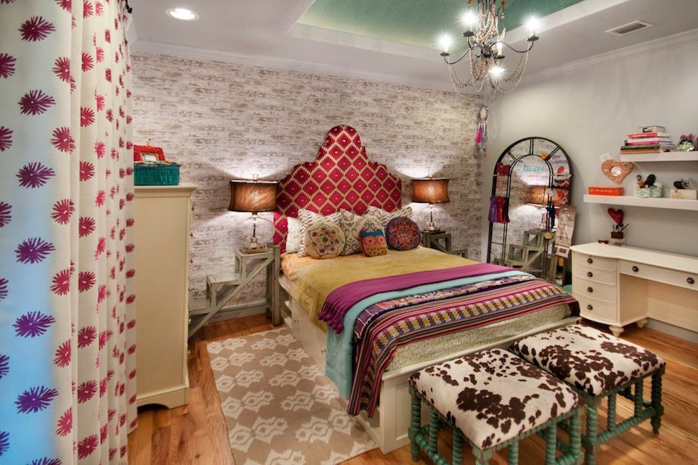 decoracion dormitorios boho chic
