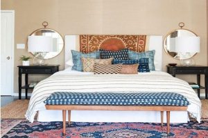 decorar dormitorio estilo boho