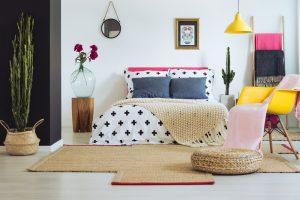decorar dormitorio estilo eclectico